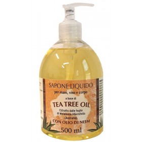 SAPONE LIQUIDO TEA TREE 500 ml